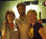 1 Jennifer and me with Dan Auerbach cropped small_fs