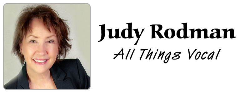 Judy Rodman - All Things Vocal Blog: Laryngitis scare: How