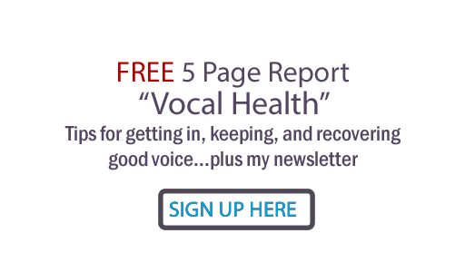 Judy Rodman - All Things Vocal Blog: Laryngitis scare: How to get ...